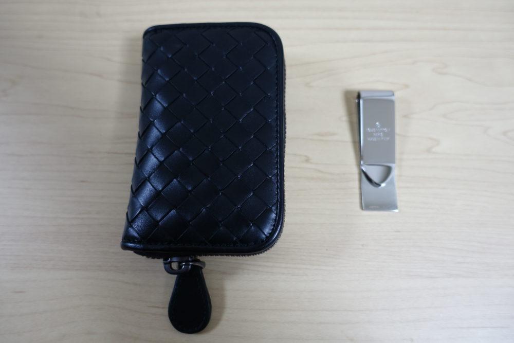 new styles ccee1 9ca02 長財布をダミエのマネークリップとボッテガの小銭入れに変えたら ...