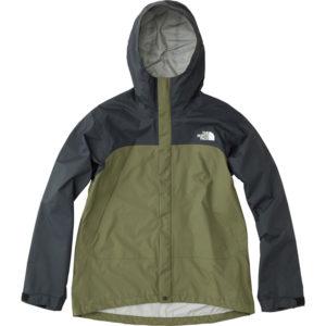 ドットショットジャケット黒緑